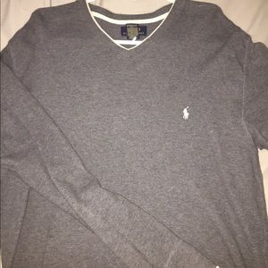 Polo long sleeve pullover